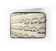 Music at an Angle Laptop Sleeve