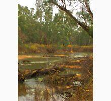 Fallen limb in the river Unisex T-Shirt