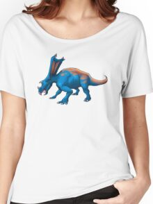 Blue Chasmosaurus Women's Relaxed Fit T-Shirt