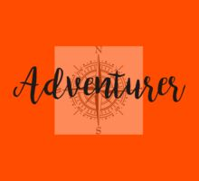 Adventurer (Compass) (Only intended for white clothing) Kids Tee