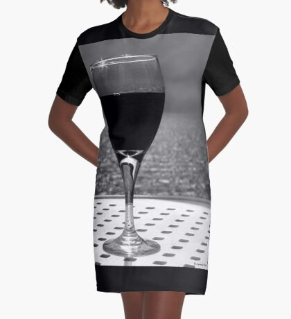 Time to Relax . . . Graphic T-Shirt Dress