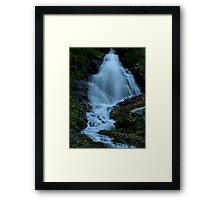 Robinson Basin Falls Framed Print