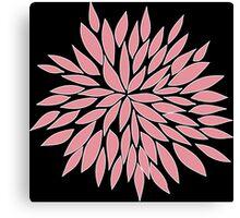 Pink Blossom Flower Canvas Print