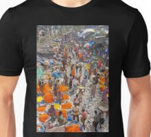 Flower Market Overview Unisex T-Shirt