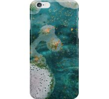 Green Water Marbling iPhone Case/Skin