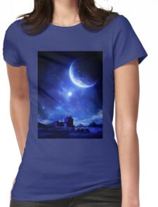 Silent Water Womens Fitted T-Shirt