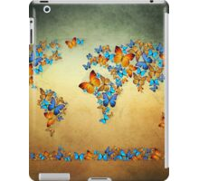 map world  iPad Case/Skin