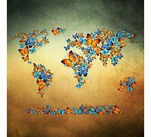 map world  Photographic Print