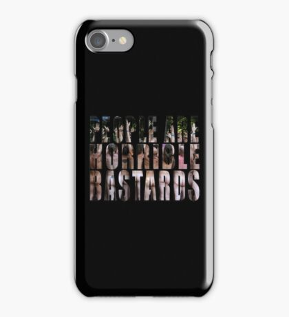 horrible iPhone Case/Skin