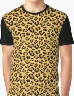 Jaguar or Leopard Animal Skin Graphic T-Shirt