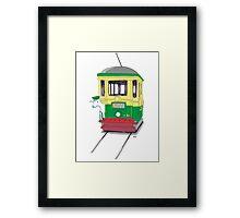 Lamb on a Tram Framed Print