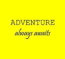 Adventure Always Awaits by Haley Marshall