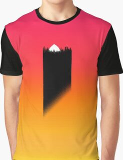 Sunset Treeline Full Sun Graphic T-Shirt