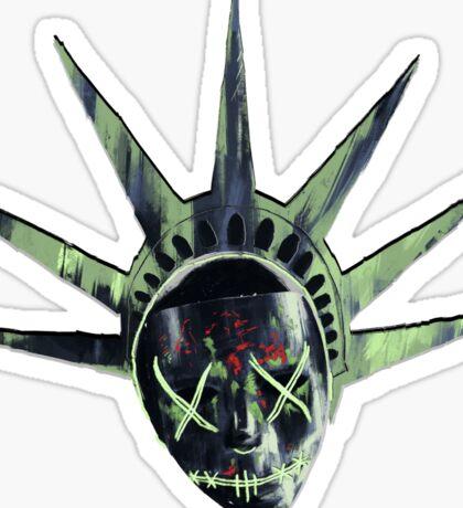 THE PURGE: liberty MASK Sticker