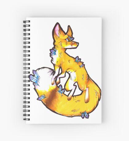 Gem Fox Spiral Notebook