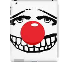 Big red nose, big teeth. big fun iPad Case/Skin
