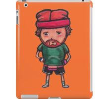 80s Claude iPad Case/Skin
