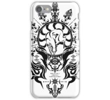 hakumen crest iPhone Case/Skin