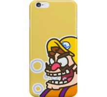 Wario: Live and Reloaded iPhone Case/Skin