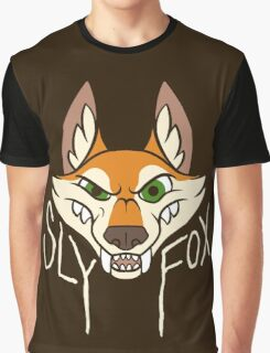 Sly Fox - Light Text Graphic T-Shirt