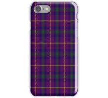 01799 Bryson (2000) Clan/Family Tartan  iPhone Case/Skin