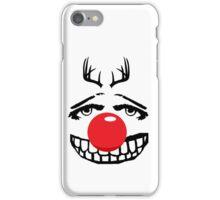 Red nose parody iPhone Case/Skin