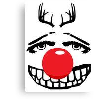 Red nose parody Canvas Print
