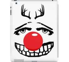 Red nose parody iPad Case/Skin