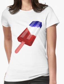 Patriotic Popsicle Womens Fitted T-Shirt