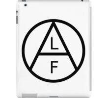 ANIMAL LIBERATION FRONT iPad Case/Skin