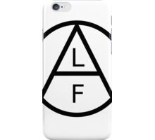 ANIMAL LIBERATION FRONT iPhone Case/Skin