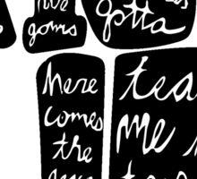 Hamilton: Rise Up Sticker