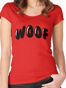 Woof Woof Women's Fitted Scoop T-Shirt