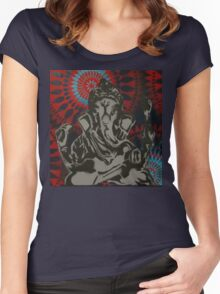 Lord Ganesha #1 Women's Fitted Scoop T-Shirt