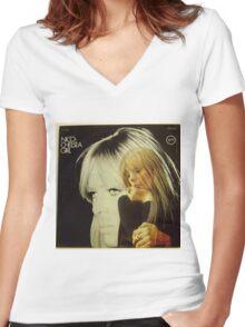Nico- Chelsea Girl, Stereo lp Cover Women's Fitted V-Neck T-Shirt