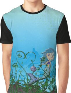 Taking My Goldfish For A Swim Graphic T-Shirt