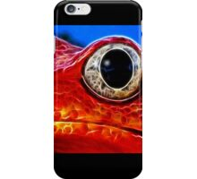 Red Frog (smallest) iPhone Case/Skin