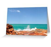 Anastasias Pool, Broome, Western Australia Greeting Card