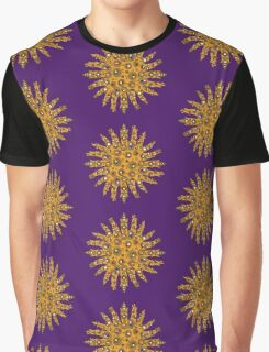 Golden Crown Thing with Jewels Graphic T-Shirt