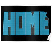 Kansas HOME state design Poster