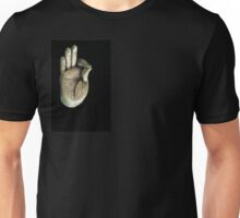gesturing fearlessness & understanding Unisex T-Shirt