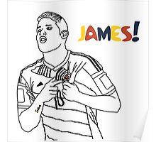 James! Poster