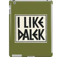 I Like Dalek iPad Case/Skin