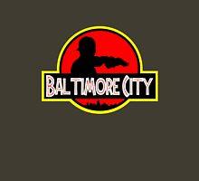 Baltimore City Maryland Jurassic Park Style Unisex T-Shirt