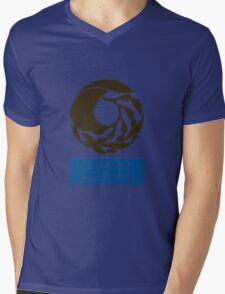 Captain! There be whales here! Mens V-Neck T-Shirt