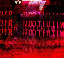Our Nothing - Glitch Art (Bloody Mess) by Desolate-Design
