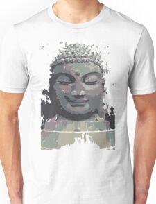 Cool Grey Buddha/Buddhist Unisex T-Shirt