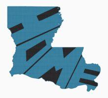 Louisiana HOME state design Kids Clothes