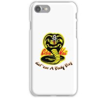 Cobra Kai Dojo - White iPhone Case/Skin