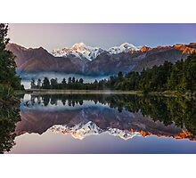 Glorious Lake Matheson Photographic Print